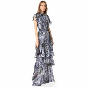 NWT $375 PARKER Bentley Dress Nightshade gown maxi